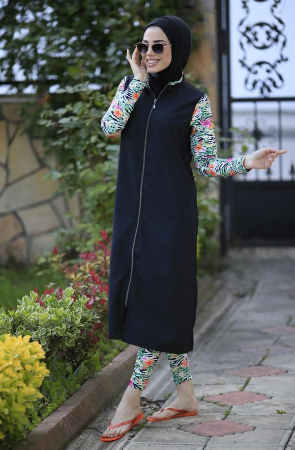 Flower Effect Full Coverage Burkini