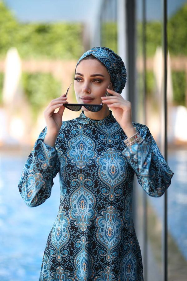 Turquoise Dream Burkini Swimwear