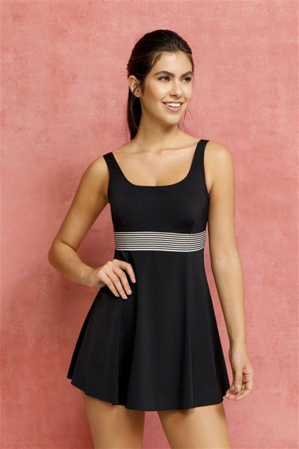 Lindsay Modest Skirted Swim Dress